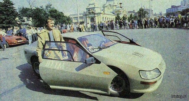 """Необычный самодельный автомобиль """"Вега-1600GT"""" из 1980-х"""