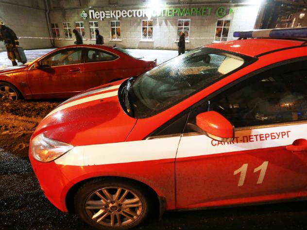 Исполнитель взрыва в супермаркете задержан в Петербурге