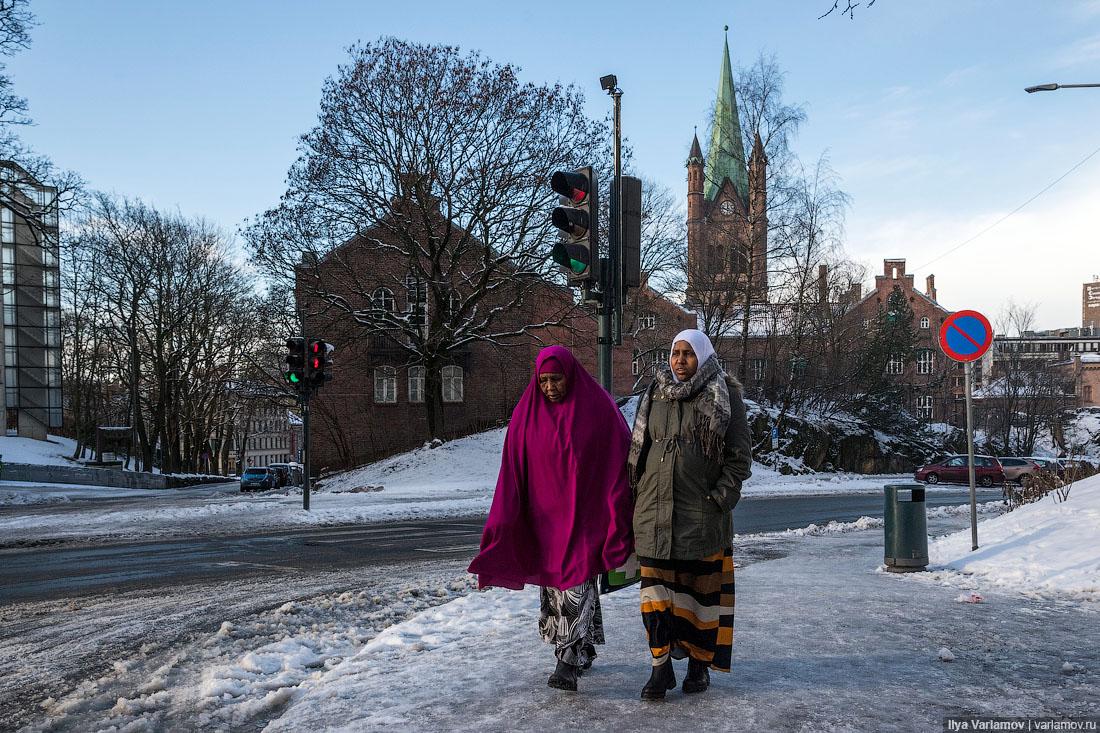 Мигранты захватывают Норвегию