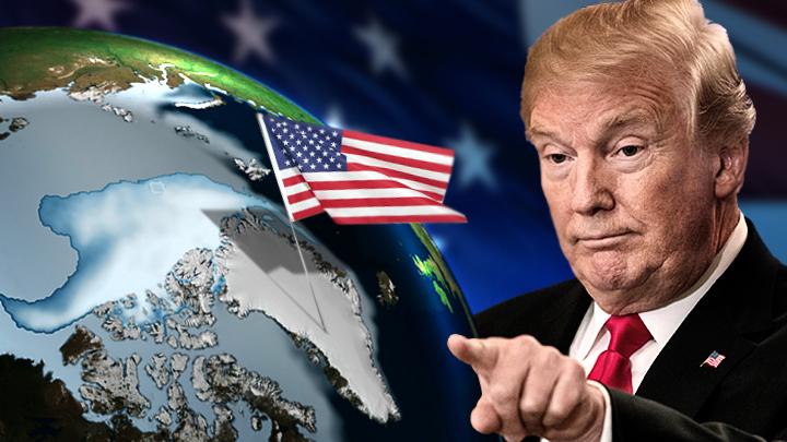 Для чего Трамп хочет купить самый большой остров в мире?