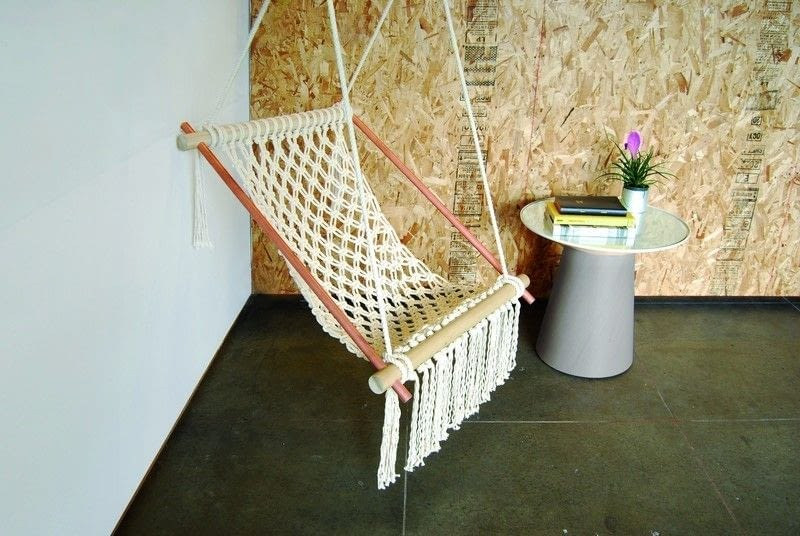 Плетение подвесного кресла