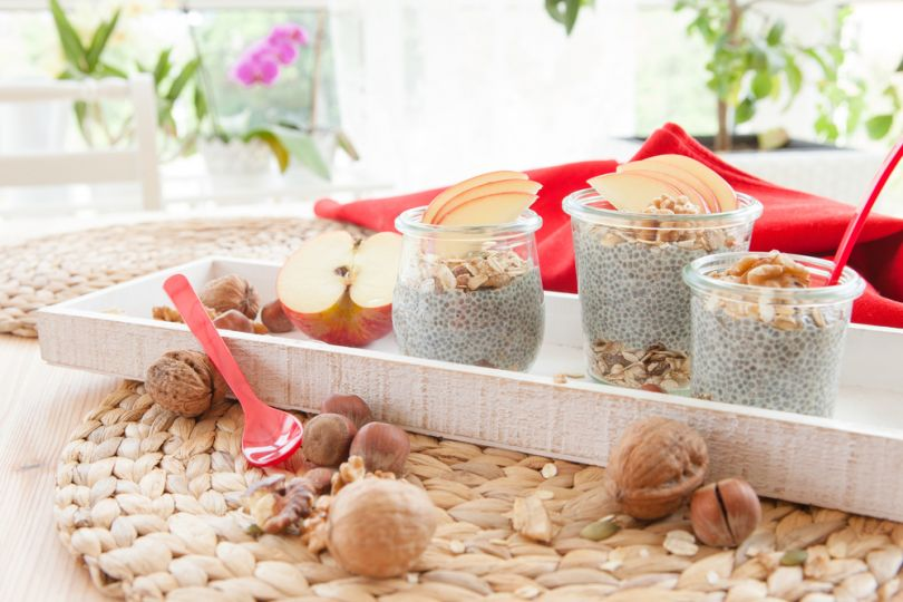 семена чиа рецепты – пудинг с семенами чиа