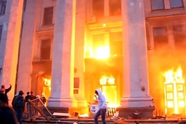 Пресс-конференция бежавшего из Украины криминалиста по делу об Одесской трагедии 2 мая