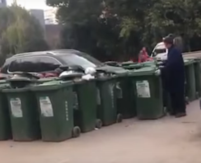Как мусорщик отомстил водителю