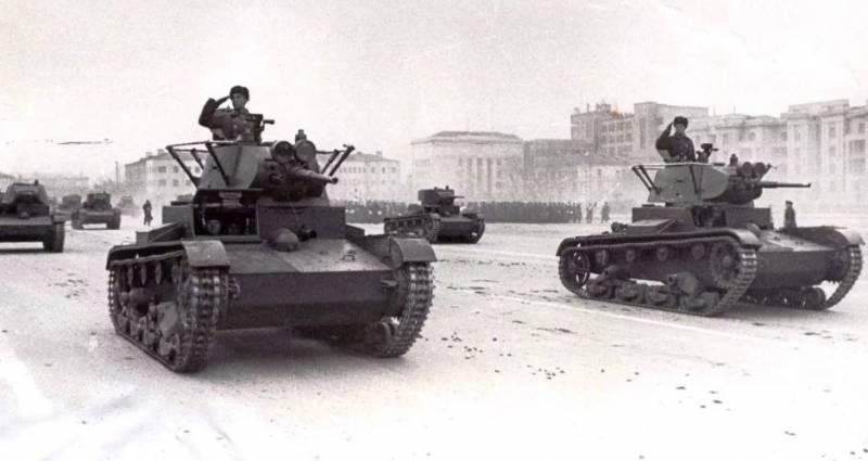 Бой взвода Т-26 глазами его командира