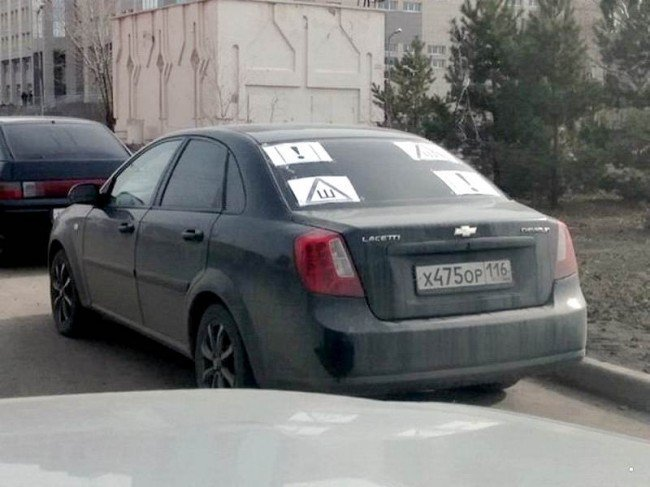 И так сойдет! Знак «Шипы» и русская смекалка пдд, прикол. автоприкол, шипы