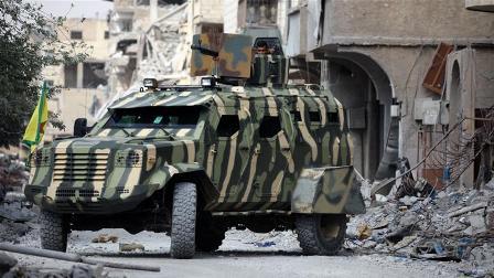 Восвобождённой Ракке сопротивление оказывают около 100 боевиковИГ