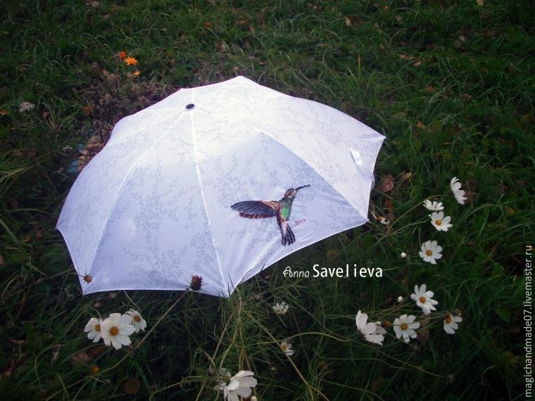 "Преображаем зонтик Ñ Ð¿Ð¾Ð¼Ð¾Ñ‰ÑŒÑŽ вышивки, фото â""– 8"