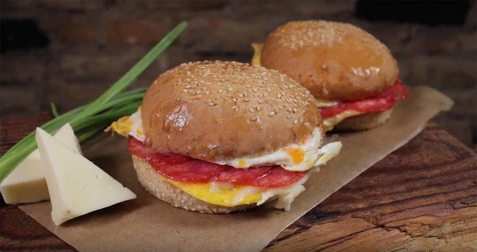 Как сделать свой бургер в макдональдсе 37