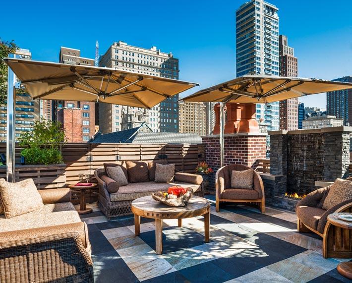 квартира с террасой на крыше