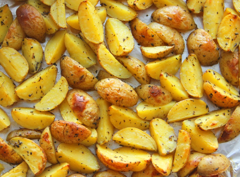 запеченный картофель без фольги