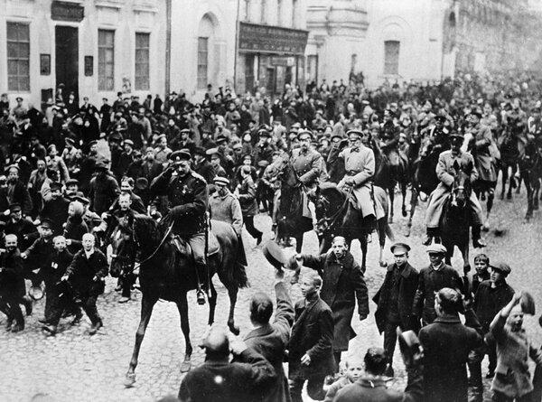 Из-за чего началась Февральская революция?