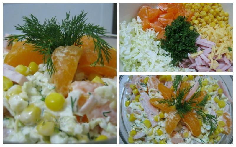 Самые вкусные новогодние салаты фото