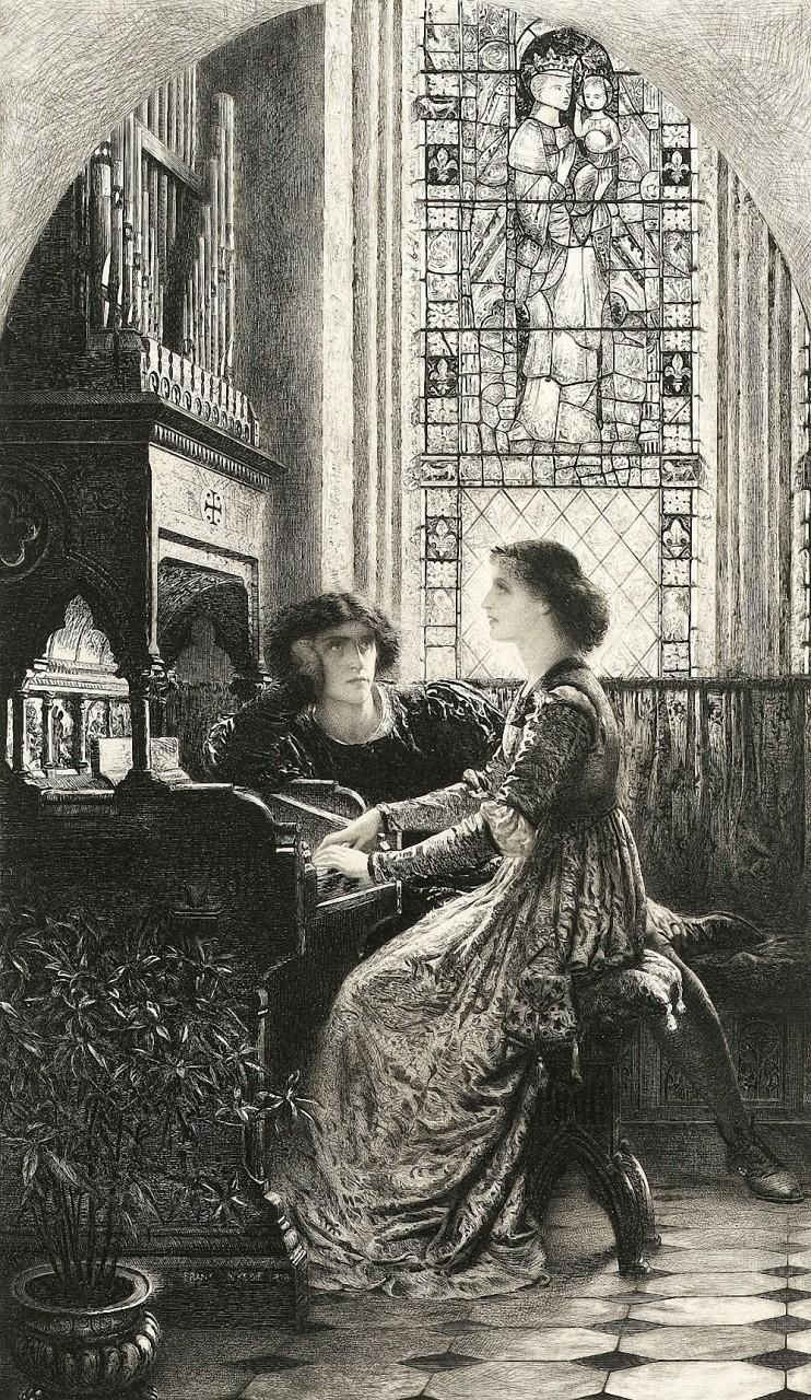 Английский художник Фрэнсис Бернард Дикси (1853 — 1928)