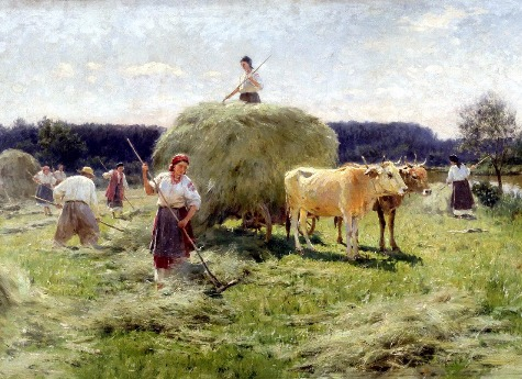 На Южном Урале женщина три дня косила траву, а ее гражданский муж думал, что она пропала без вести