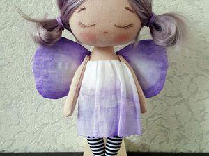 Шьем куколку «лавандовый мот…