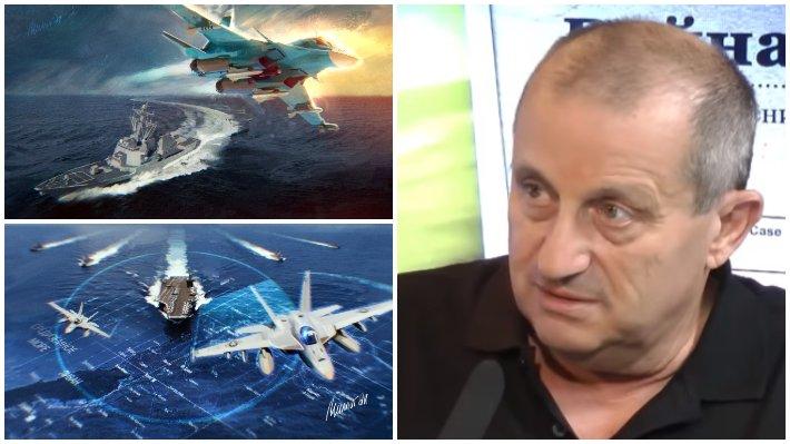 """Кедми усомнился в способности США догнать РФ в военном отношении / Коллаж: ФБА """"Экономика сегодня"""""""
