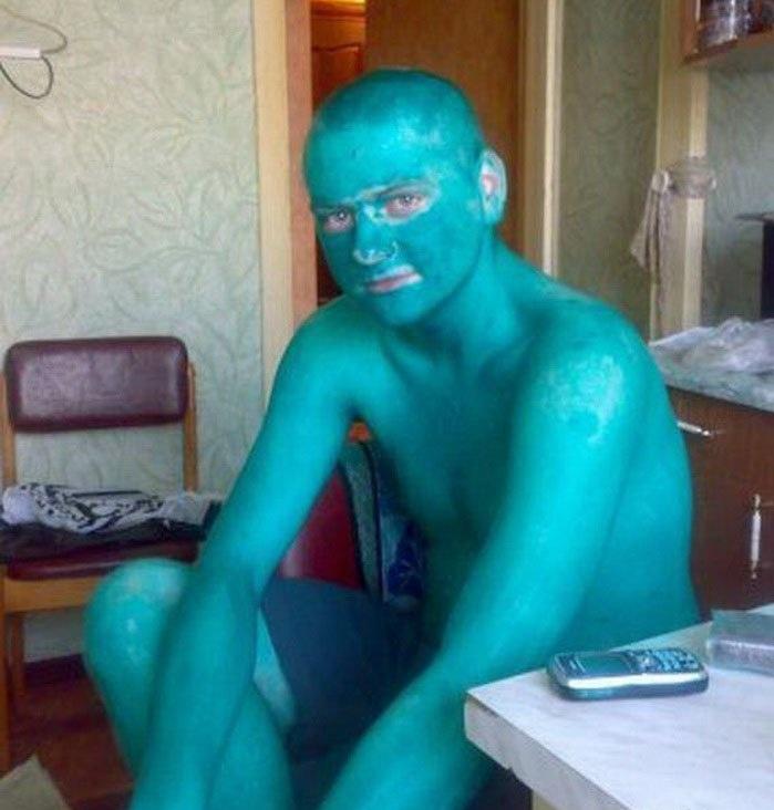 Почему «зелёнкой» пользуются только в России и СНГ
