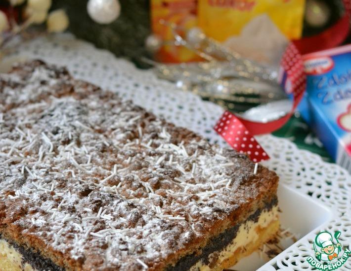 Рецепт: Новогодный пирог Щедрак