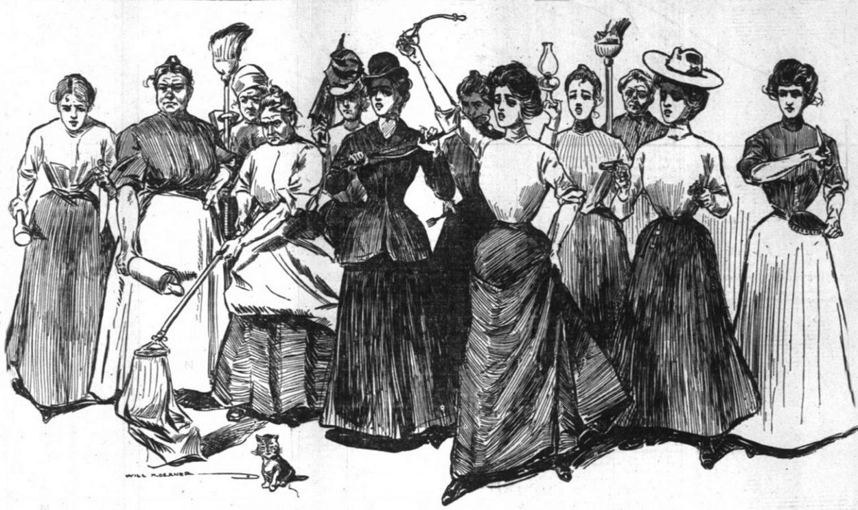 Суфражистки — «дуры-бабы» ил…