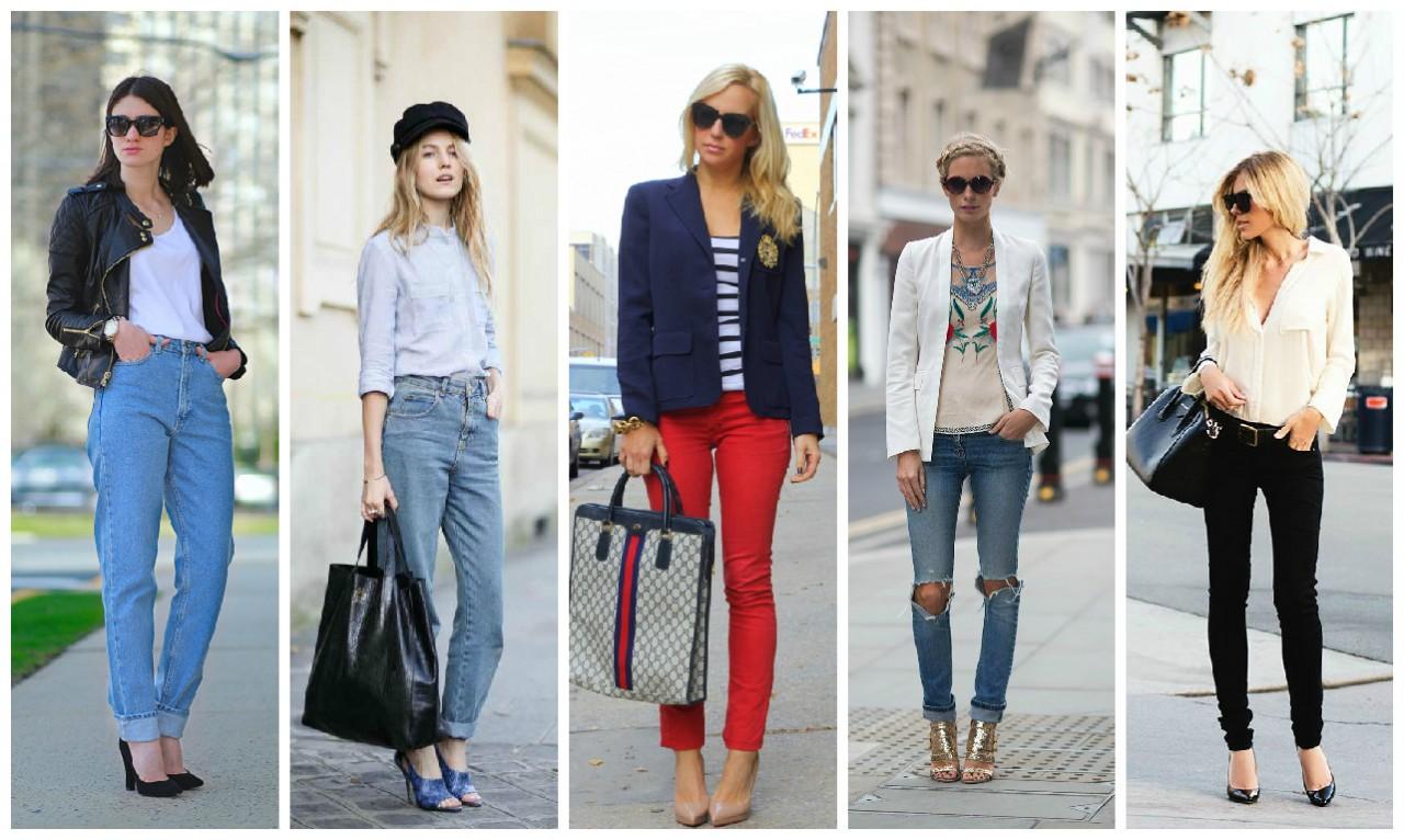 Как выбрать модные джинсы 2015