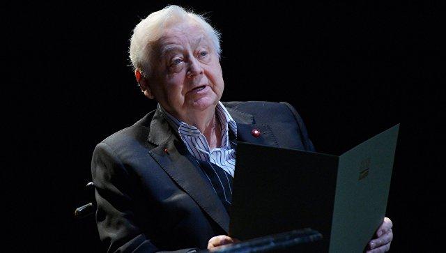 Олег Табаков попал в реанимацию