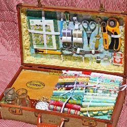 10+ способов переделки старого чемодана