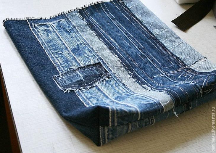 Строительный пояс своими руками из джинса 51