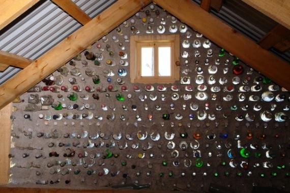 Блог им. Tatulie: дом из бутылок интерьер: Компактные дома, доступное жилье, микропространства, префаб дома.