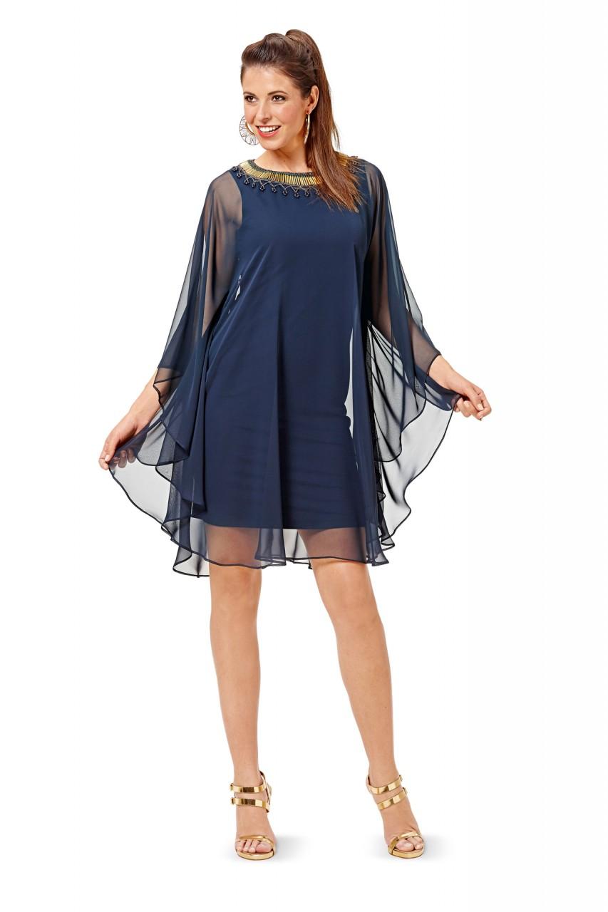 Платье для полных с накидкой своими руками