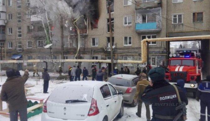 Мощный взрыв прогремел в Саратове