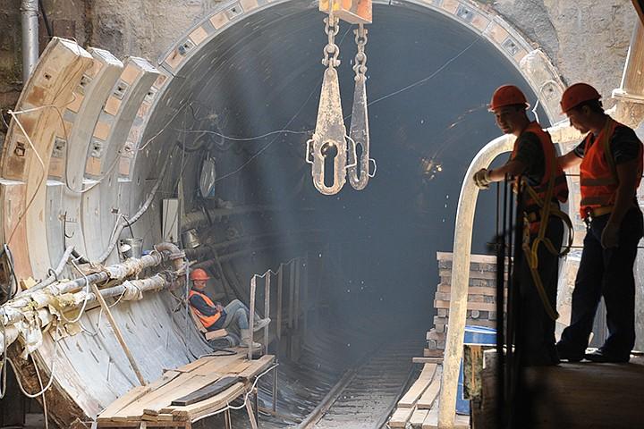 Красную ветку метро продлят до станции «Новомосковская»