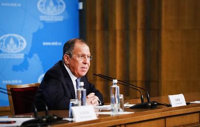 Сергей Лавров назвал приоритеты внешней политики в 2018 году