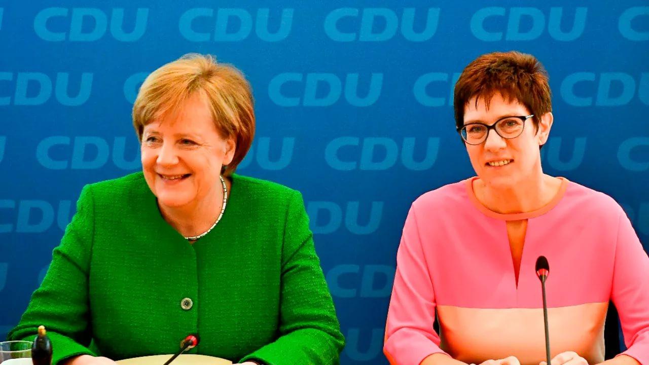 Преемница Меркель начала с н…