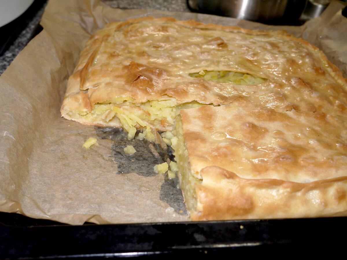Пирог с картошкой. Рецепт моей свекрови
