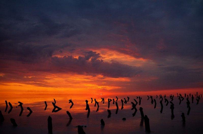 Озеро Баскунчак, Астраханская область озеро, природа, россия