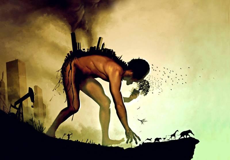 Человечество «доедает» Землю