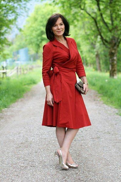 У каждой женщины 50+ должно быть платье. Выбирайте то, что подходит вам