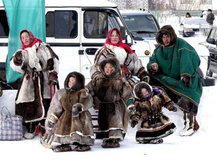 Исчезающие народы России