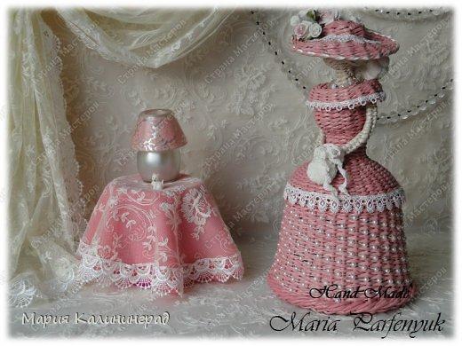Очень красивые плетенки из газет от Марии Калининград (7) (520x390, 166Kb)