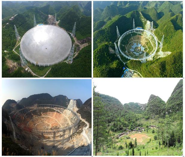 В Китае запустили крупнейший телескоп мира