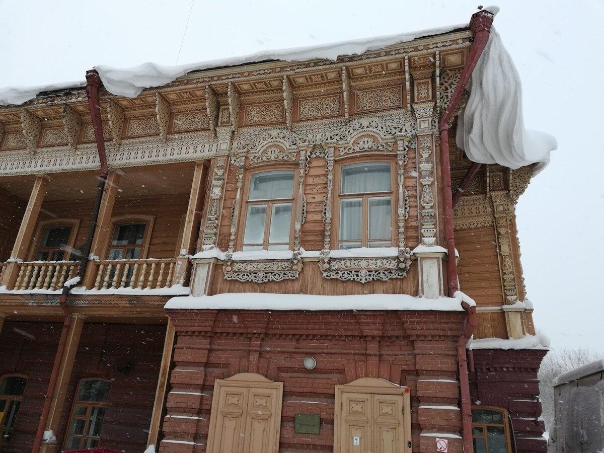 Заснеженный холодный Томск. Фото автора.