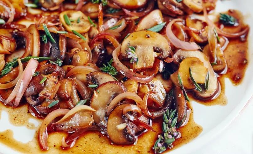 Картинки по запроÑу БальзамичеÑкие грибы за 15 минут. Элегантный гарнир к мÑÑу