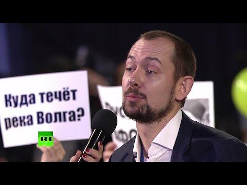 Путин посоветовал украинскому журналисту подумать о том, чтобы ВСУ в Донбассе не считали оккупантами