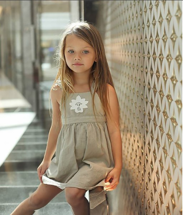 Сероглазая блондинка к своим пяти годам уже является знаменитостью.  Instagram tallianancyburk.
