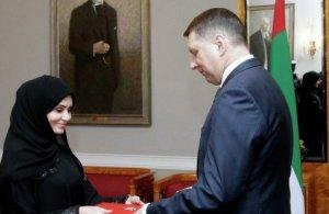 Латвия оскорбила посла Арабских Эмиратов Аль Мадхани