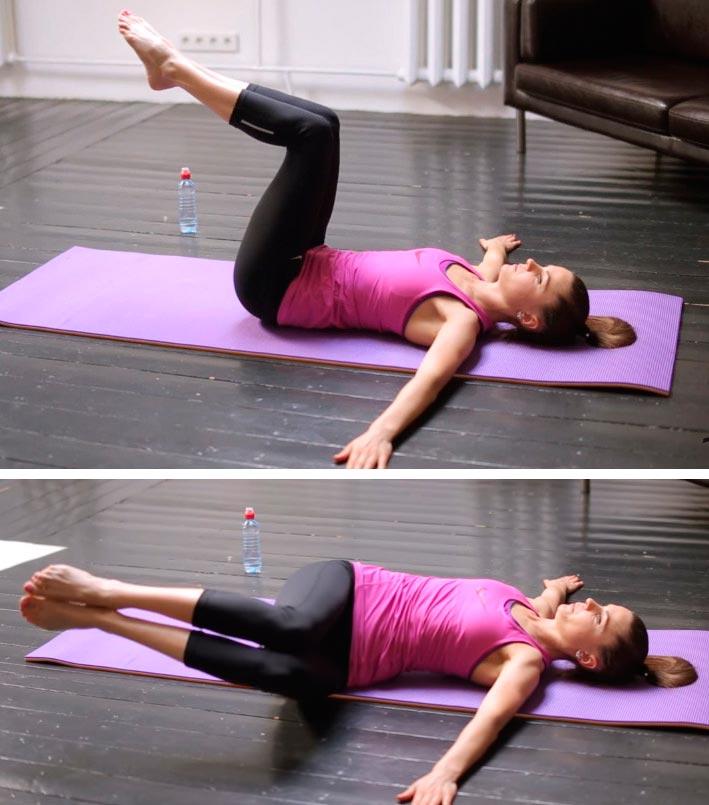 Комплекс упражнений пилатеса…