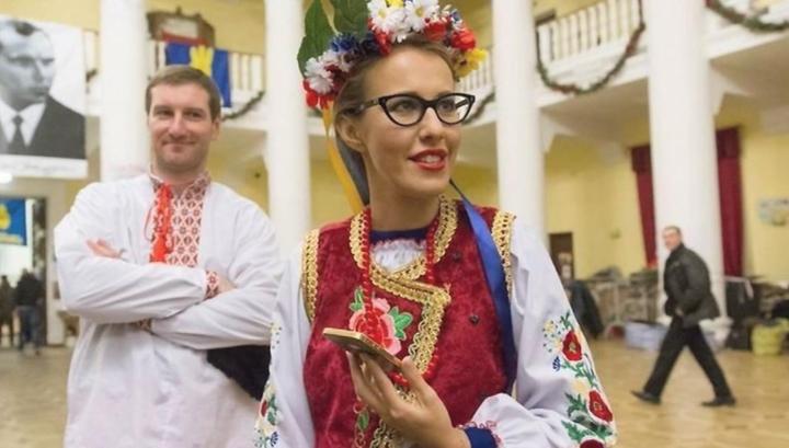 Собчак попросила украинское посольство разрешить ей посетить Крым