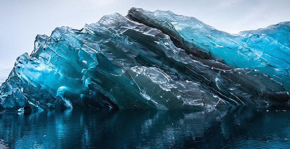 Тайна и волшебство самых опасных и древних айсбергов в мире