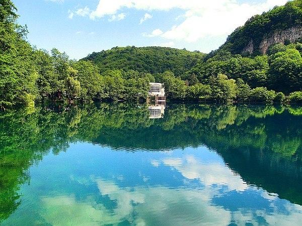 Голубые озёра в Кабардино-Балкарии